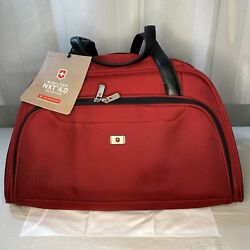 Victorinox - Werks Traveler 4.0 Expandable Tote/duffel - Red Nwt