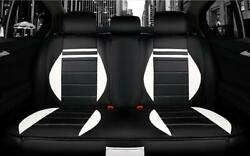 Covers Pu Leather Car Seat 11pcs/set Suitable For All + Steering Wheel