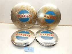 Ford Lgt-100 120 145 165 125 Open Side Tractor Ford 8 And 12 Hub Caps