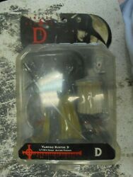 Vampire Hunter D 1/10th Action Figure 2001 Epoch C Works Sealed But See Pictures