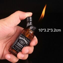 Wine Bottle Shape's Cute, Portable, Refillable Gas Lighters For Mens And Ladies