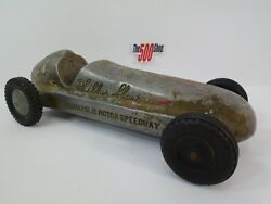 Wilbur Shaw Aluminum Roadster Die-cast Indianapolis Motor Speedway Toy Race Car