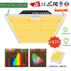 1000w Dimmable Led Grow Light Samsung Lm301b Indoor Plants All Stages Veg Flower
