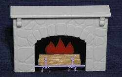 Toys R Us You And Me Happy Together Dollhouse Inside Fireplace Mantel