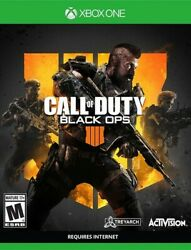 Call Of Duty Black Ops 4 - Microsoft Xbox One Complete Very Good