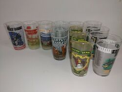 Vintage Churchill Downs 1970s And 1980s Kentucky Derby Glass Tumblers Lot Of 11