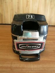 1968-1972 7.5 Hp Mercury Outboard Top Cowl And Face Plate