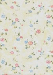 17.71''x118' Floral Wallpaper Yellow Peel And Stick Contact Paper Removable Wall