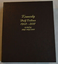 Dansco Coin Album 8166 Kennedy Half Dollar 1964-2011 Including Proof-only Issues