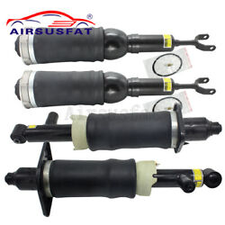 4pcs Front Rear Air Suspension Shock Absorber For Audi A6 4b C5 Allroad Quattro