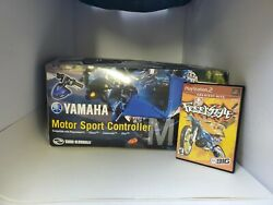 New Yamaha Motor Sports Controller For Ps2 + Cib Freekstyle Motorcycle Game