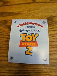 Toy Story 2 5 Small Mcdonalds Happy Meal Toy Display Advertising Sign Vtg