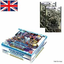 Digimon Card Game Release Special Booster Display Ver.1.0 Bt01-03 + 2 Dash Pack