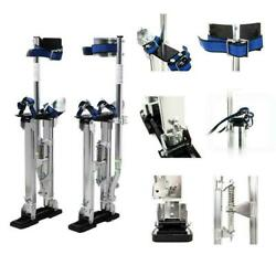 Practical 15- 23 Drywall Stilts Painters Walking Taping Finishing Tools Silver
