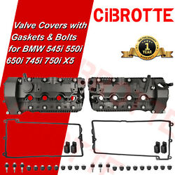⭐fits Bmw E65 E66 545i 550i 650i 745i 750i X5 Valve Cover Set And Gaskets And Bolts⭐