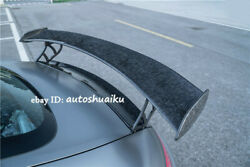 For Mercedes Benz Amg Gt/gts 2015-20 Carbon Fiber Gt Wing Rear Spoiler Gtr Style
