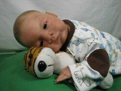 Toby Morgan River Reborn Preemie Baby Boy Doll 18 1/2 3 Pounds Limited Ed 400