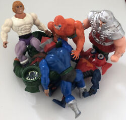 He-man Masters Of The Universe 6 Action Figures 1980andrsquos Vintage Collectables Toys