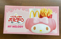 My Melody Mcdonald's Drink And Potato Holder Sanrio Limited Holder For Car New