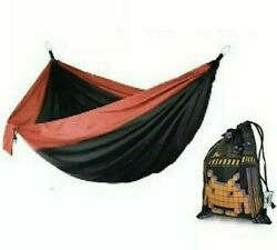 Space Invaders Hammock W/carrying Bag New - Style Of Classic Alien Shooter Game