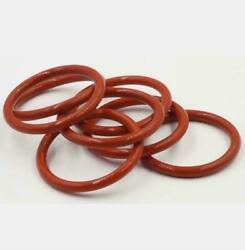 Wire Dia. 8.6mm Food Grade Silicone Rubber Seal O-ring Red Outter Dia 70380mm