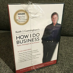 Keith J.cunningham How I Do Business Tools, Strategies Technique Audio Cd And Dvd