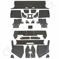 Front And Rear Bumper Bare Kit Mount Plate For 1984-2001 Jeep Cherokee Xj Metal