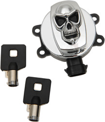 Drag Specialties Skull Ignition Switch Chrome 2106-0420