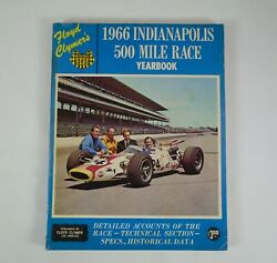 1966 Indianapolis 500 Floyd Clymerand039s Yearbook Graham Hill American Red Ball