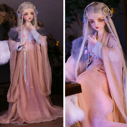 1/3 Bjd Doll 60cm Girl Dolls With Changeable Eyes Wigs Clothes Birthday Gift Toy