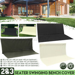 2and3 Seater Replacement Swing Seat Garden Patio Hammock Bench Spare Cover Outdoor