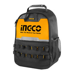 Ingco Electrician Tool Backpack With Hand Tool Bag, Professional Water-proof