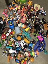 Vintage Mcdonald's Bk Happy Meal Toys Huge Lot 70+ Pieces Late 80s And Early 90s