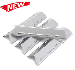 304 Stainless Steel Heat Plates Flavorizer Bars 4-pack For Kenmore 14 15/16 Bbq