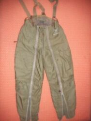 Us Air Force Wwii - Type A-11 A Flying Trousers Flight Pants Suspenders