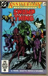 Swamp Thing 50-1986 Nm- 9.2 1st Full Justice League Dark Alan Moore Giant-size