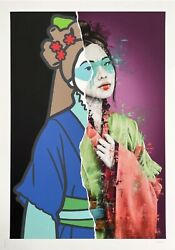 Fin Dac Redux Saries 1 Art Print Signed And Numberer 1 Of Only 2. Comes With Coa