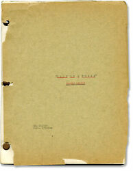 Leslie Charteris Lady On A Train Original Screenplay For The 1945 Film 129114