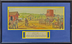 John Ford How The West Was Won Original Scenario Artwork For The 1962 138050