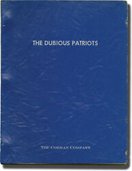 Charles You Canand039t Win And039em All Dubious Patriots Original Screenplay For 142976