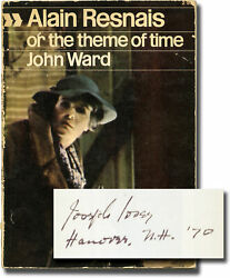 Alain Resnais Or The Theme Of Time First Edition Joseph Loseyand039s Copy 143609