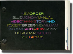 New Order Blue Monday Manual Video First Edition 1988 144389