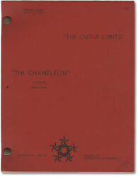 Robert Duvall Outer Limits The Chameleon Original Screenplay For The 145375