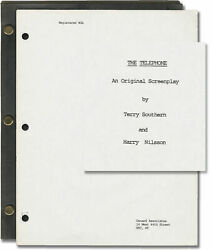 Terry Southern Telephone Original Screenplay For The 1988 Film 1986 147221