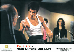 Bruce Lee Way Of The Dragon Collection Of Three Original Lobby Cards 148862
