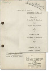 Archive Of 19 Original Screenplays For Comedy Shorts Starring Slim 151226