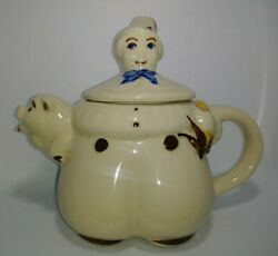 Vintage Shawnee Teapot Tom The Pipers Son Antique Pig And Baker Made In Usa Nice