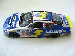Nascar Driver Kyle Busch Signed 2004 5 Lowes Tc Diecast 1st Win T-shirt And Hat