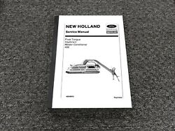 Ford New Holland 499 Pivot Tongue Haybine Mower Conditioner Service Manual