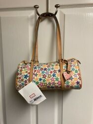 Dooney amp; Bourke White with Stars Mini Barrel Bag New with Tags $75.00